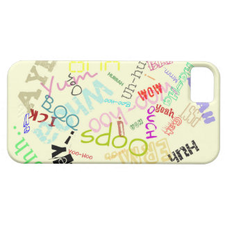 exclamation words iPhone case