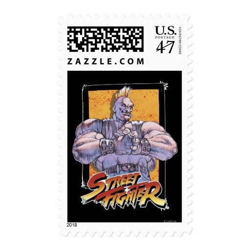 Exclusiva de Capcom Street Fighter Sello