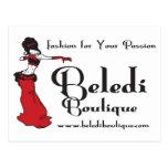 Exclusivas del boutique de Beledi Postales