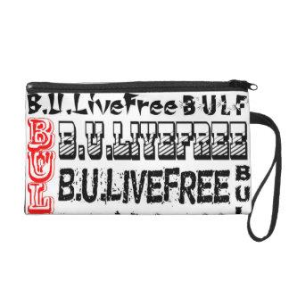Exclusive!! B. U. Live Free Wrist let Clutch