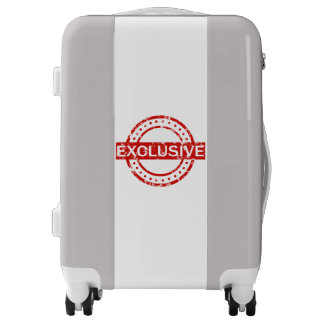 Exclusive Carry On, White, White Luggage