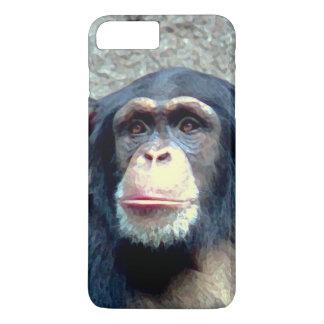 Exclusive Chimpanzee Artwork iPhone 8 Plus/7 Plus Case
