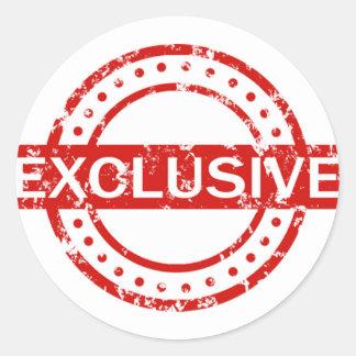 Exclusive Classic Round Sticker, Matte Classic Round Sticker