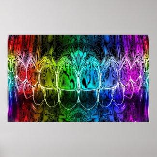 Exclusive dental art print print