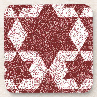 Exclusive design of Star of David made in Israel Drink Coaster