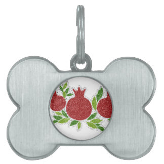 Exclusive jewish israeli design made in Jerusalem Pet ID Tag