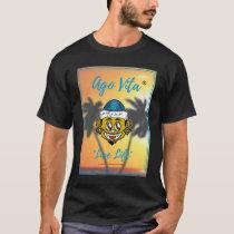 [Exclusive] Modern Style Ago Vita (T-Shirt)Black T-Shirt