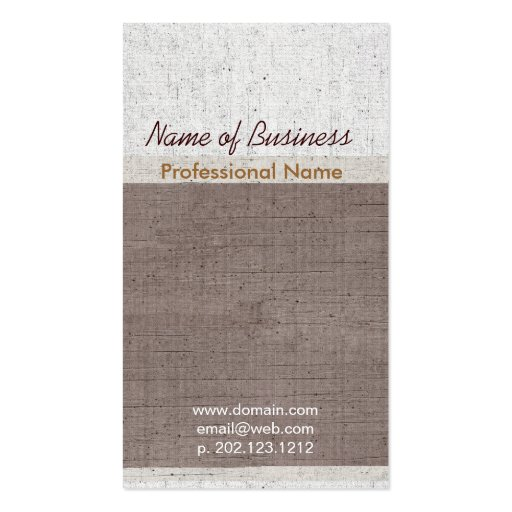 Exclusive occupational upscale aged business card zazzle for Upscale business cards