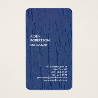 Exclusive Special Blue Modern Unique Artistic Business Card