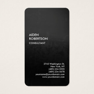 Exclusive Special Gradient Grey Modern Unique Business Card