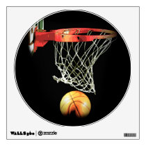 Exclusive Trendy Unique Basketball Wall Decal