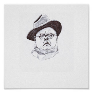 """EXCLUSIVE Truman Capote """"In Cold Ink"""" Poster"""