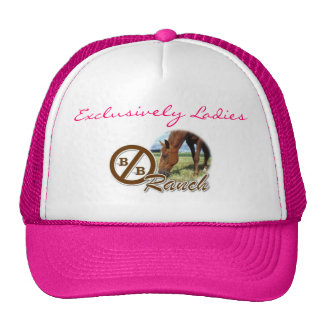 Exclusively Ladies @ Circle Bar BB Ranch Trucker Hat