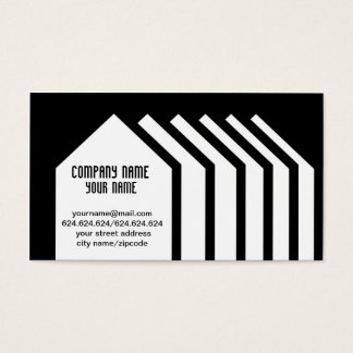 Exclusively original negative minimal style business card