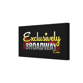 ExclusivelyBroadway.com Stretched Canvas Print