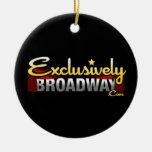 ExclusivelyBroadway.com Ceramic Ornament