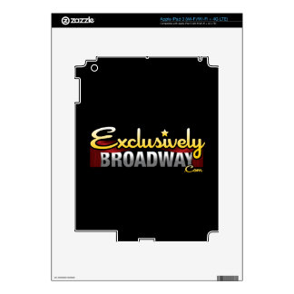 ExclusivelyBroadway.com Decal For iPad 3