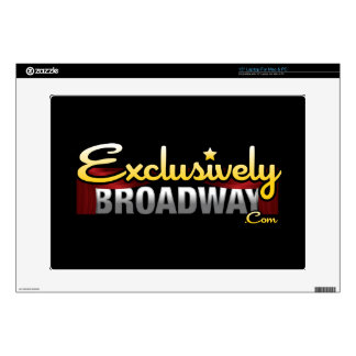 "ExclusivelyBroadway.com Decals For 15"" Laptops"