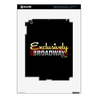 ExclusivelyBroadway.com iPad 3 Skin
