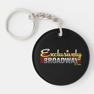ExclusivelyBroadway.com Llavero Redondo Acrílico A Una Cara