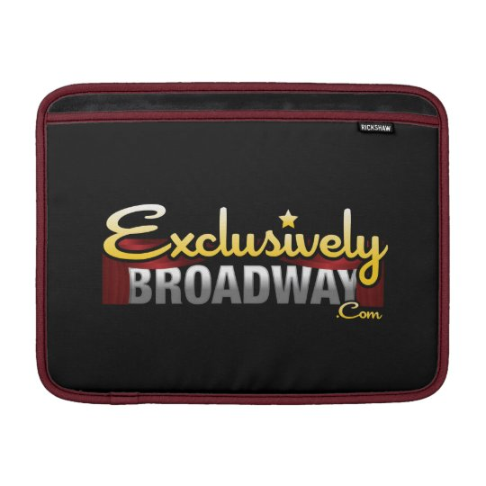 ExclusivelyBroadway.com MacBook Air Sleeve