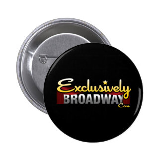 ExclusivelyBroadway.com Pinback Button