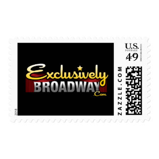 ExclusivelyBroadway.com Postage Stamps