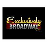 ExclusivelyBroadway.com Postales