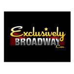 ExclusivelyBroadway.com Postcard