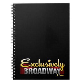 ExclusivelyBroadway.com Spiral Notebooks