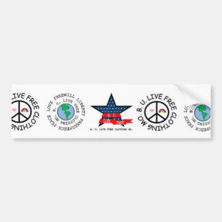 ¡Exclusivo!! Pegatina para el parachoques del logo Pegatina Para Auto