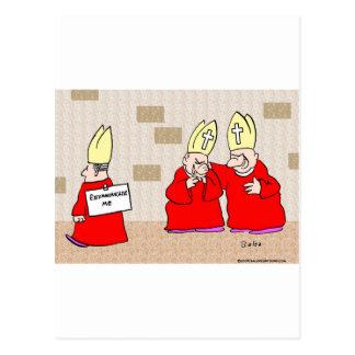 excommunicate me los obispos postal