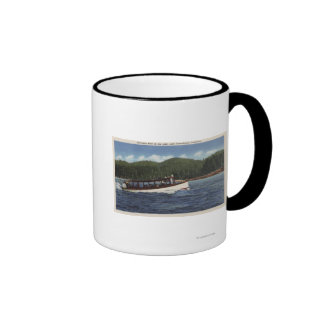 Excursion Boat on the Lake Mug