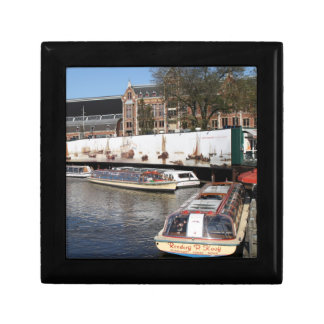 Excursion boats in Amsterdam Gift Box