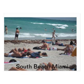 Excursión de la playa de las vacaciones de postal