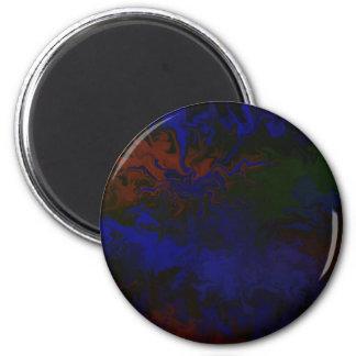 Excursion of art 2 inch round magnet