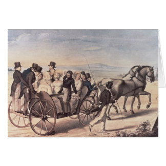 Excursion of the Schubertians from Atzenbrugg Card