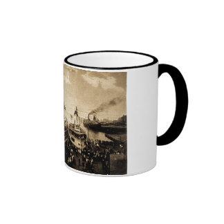 Excursion Steamers, Detroit, Michigan - Tashmoo Coffee Mug