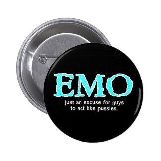 Excusa de Emo Pin Redondo 5 Cm