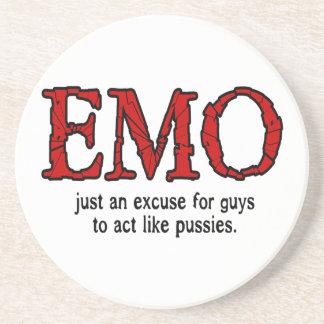 Excusa de Emo Posavasos Personalizados