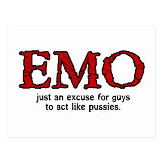 Excusa de Emo Postales