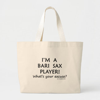 Excusa del jugador de saxofón de Bari Bolsas
