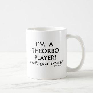 Excusa del jugador de Theorbo Taza Clásica
