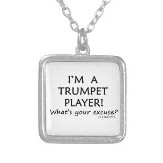 Excusa del jugador de trompeta colgantes personalizados