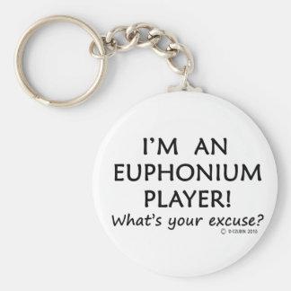 Excusa del jugador del Euphonium Llaveros