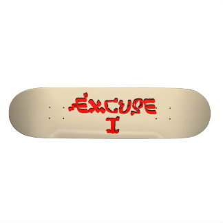 Excusa I Tabla De Skate