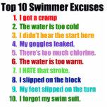 Excusas de los nadadores del Top Ten Esculturas Fotograficas