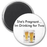 excusas del embarazo imanes de nevera