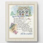 Excuse esta caligrafía de la casa - Audrey Jeanne Placa