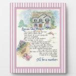 Excuse esta caligrafía de la casa - Audrey Jeanne Placas